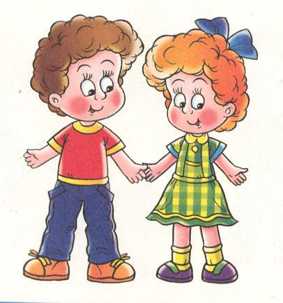 картинки образ девочки и мальчика детский сад Ломовцеву, служившему